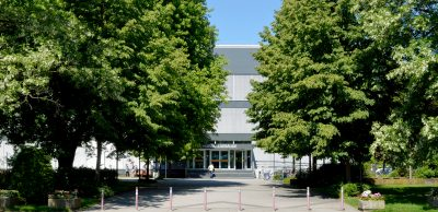 Energetisch saniertes Hörsaalgebäude der Philipps-Universität Marburg